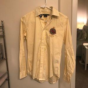 Ralph Lauren striped yacht association shirt